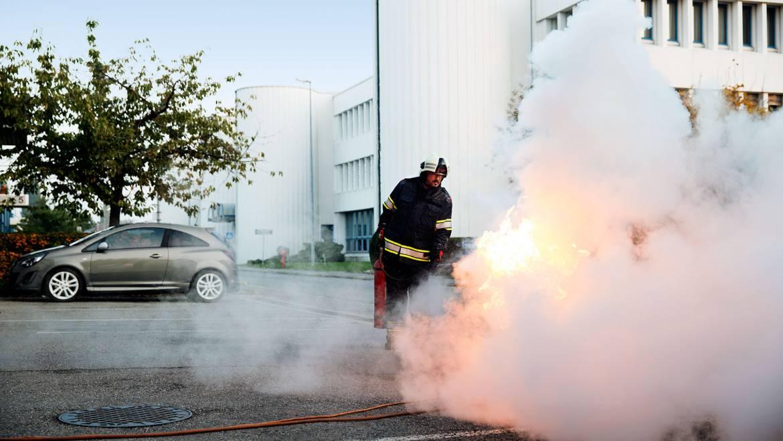 Endüstriyel Yangınlar